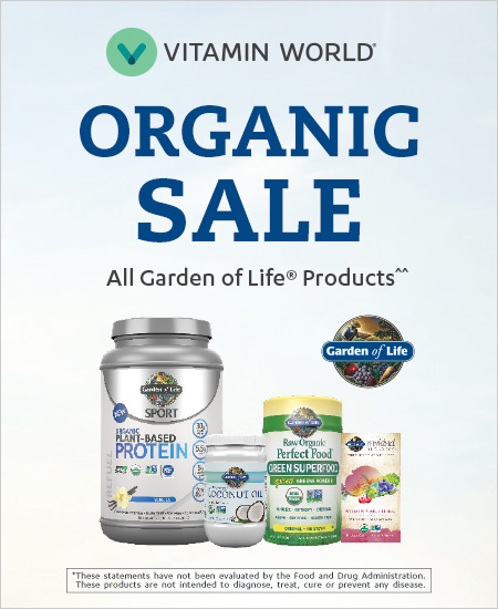 Vitamin World – Organic Sale