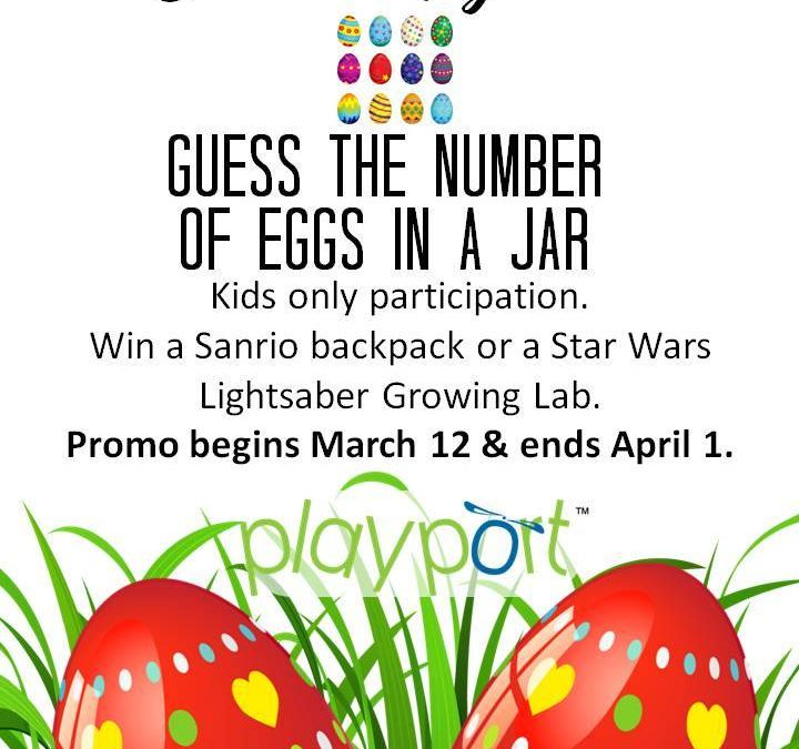 Playport – Guess the Number of Eggs in a Jar