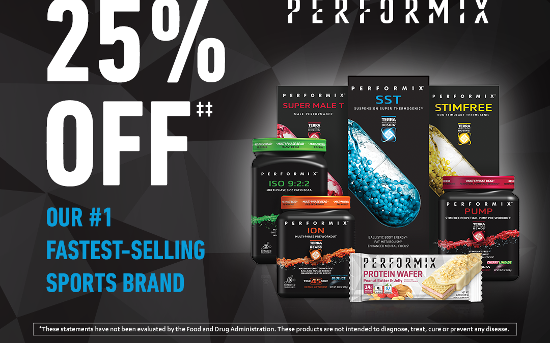 Vitamin World – 25% Off Performix Products
