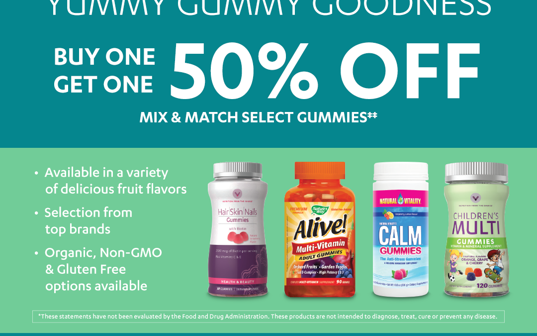 Vitamin World – Yummy Gummy Goodness