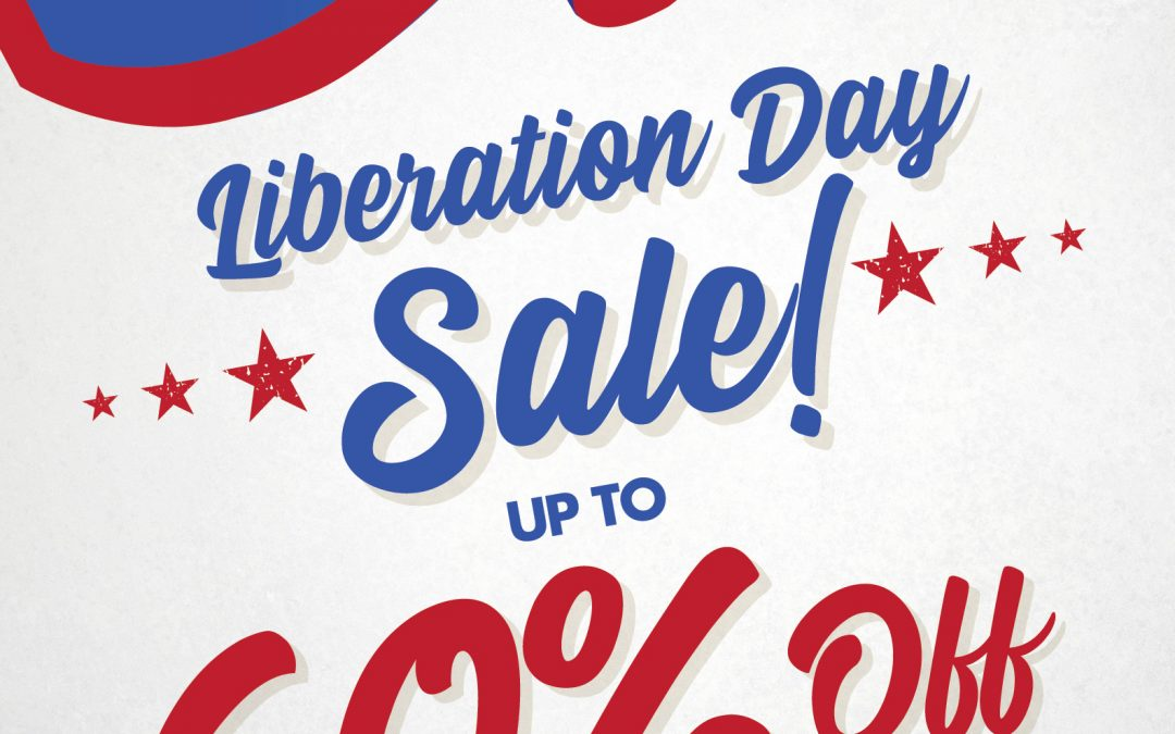 2019 Liberation Day Sale