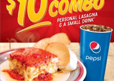 Lasagna Combo