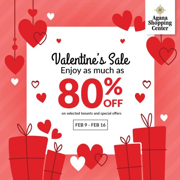 [ SALE ] Valentine's Sale