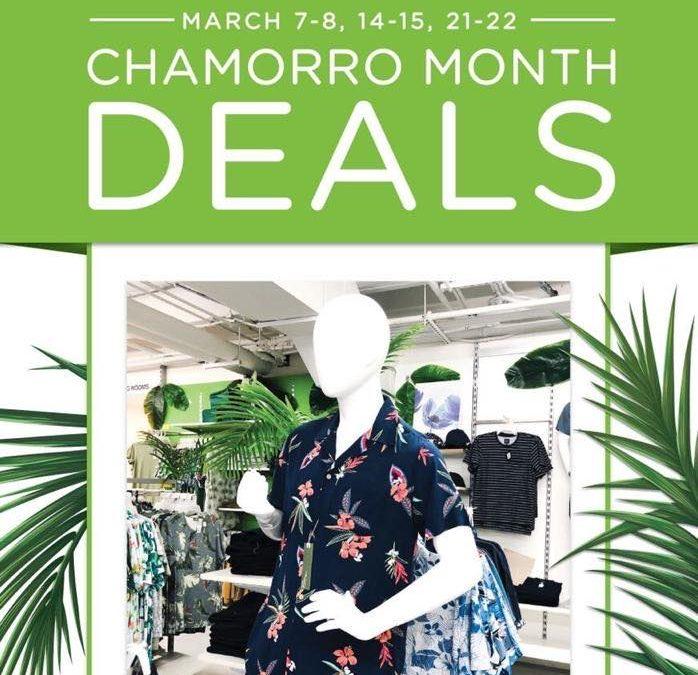 [ SM Island ] CHamoru Month Deals – 20% off