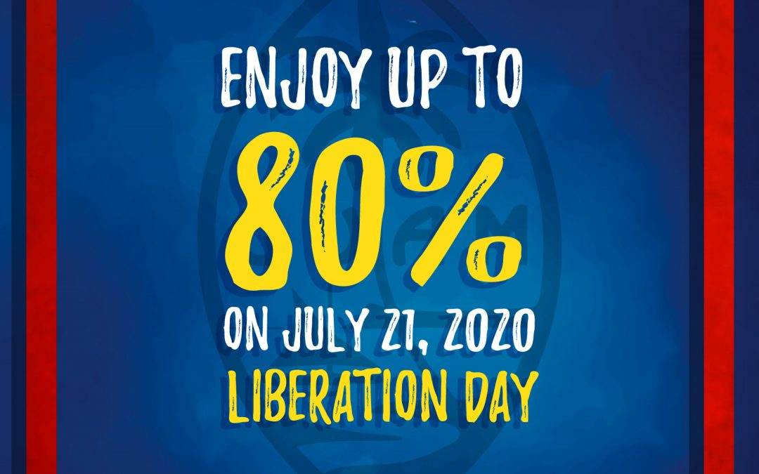 Liberation Day Sale