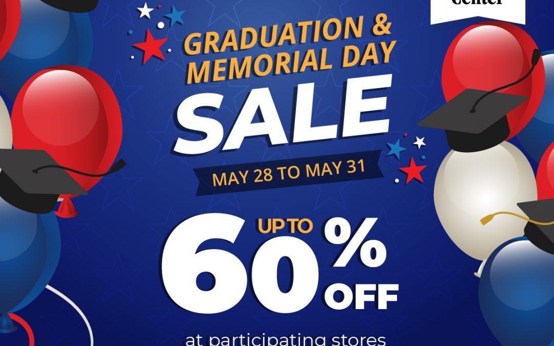 Grad & Memorial Day Sale