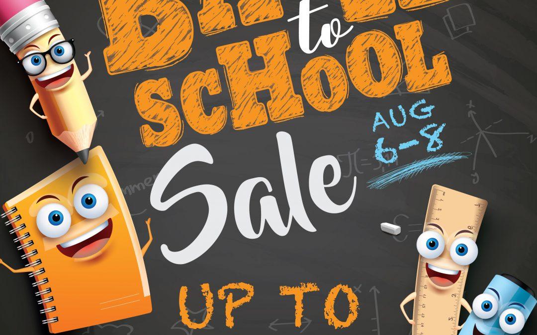 Back-To-School Sale